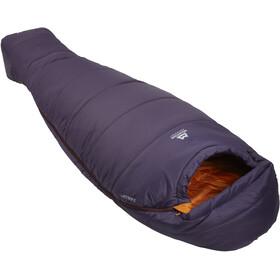 Mountain Equipment Starlight I Sleeping Bag Long Women, aubergine/blaze